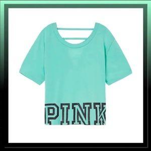 Victoria Secret Pink Oversized Crop Top